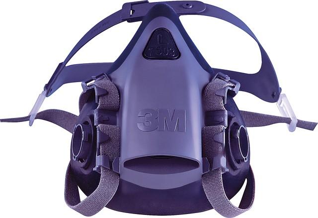 atemschutzmasken 3m serie 7500 halbmasken atemschutz arbeitsschutz. Black Bedroom Furniture Sets. Home Design Ideas