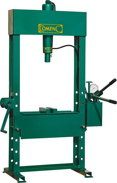 hand hydraulische presse compac pressen maschinen. Black Bedroom Furniture Sets. Home Design Ideas