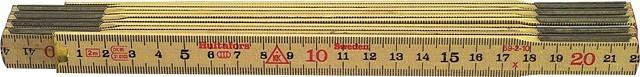 Holz-Gliedermeter, Schwedenmeter