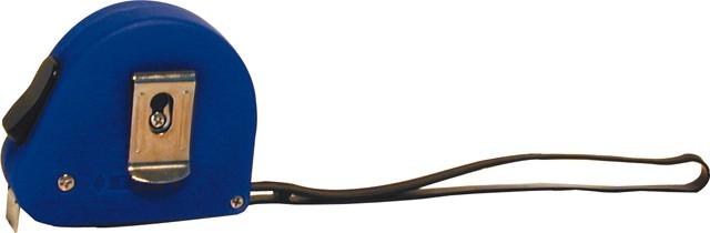 Rollmeter Stahlux blau