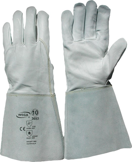 Handschuh Schweisser aus Ziegennappaleder